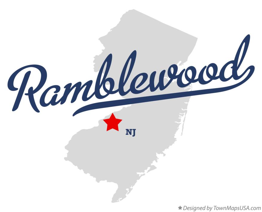 Map of Ramblewood New Jersey NJ