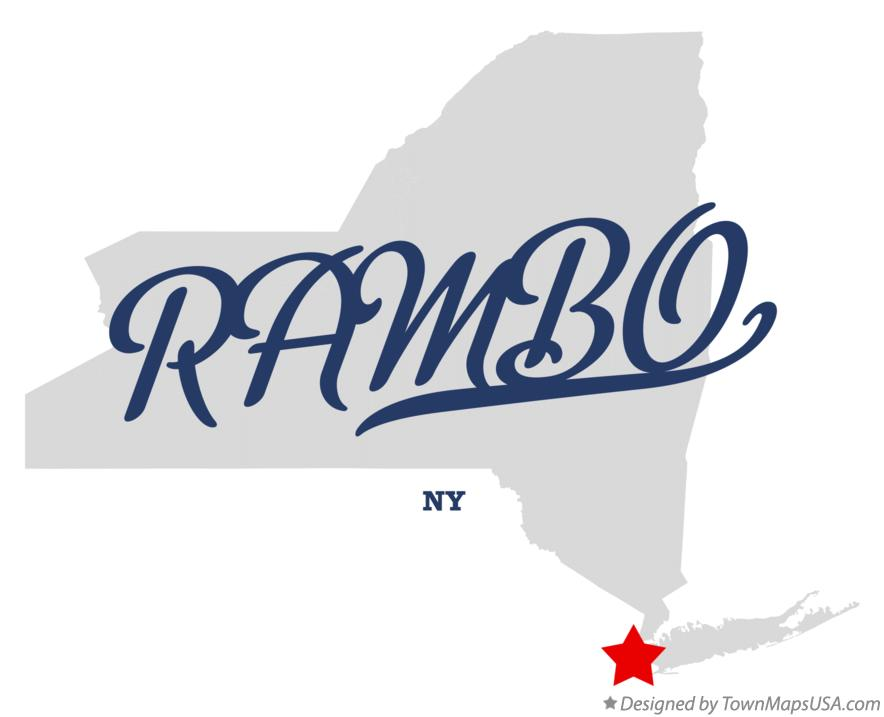 Map of RAMBO New York NY