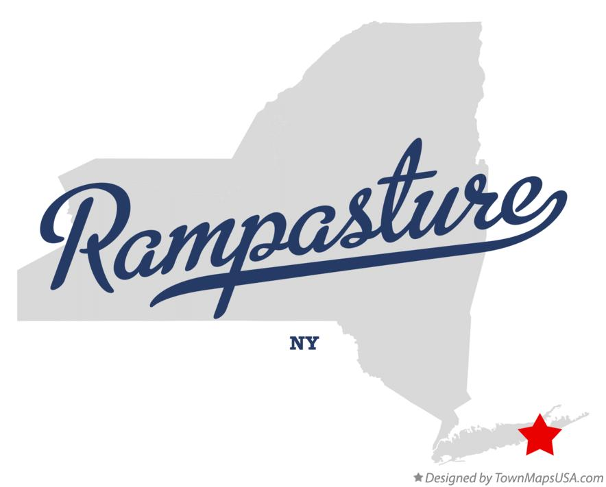 Map of Rampasture New York NY