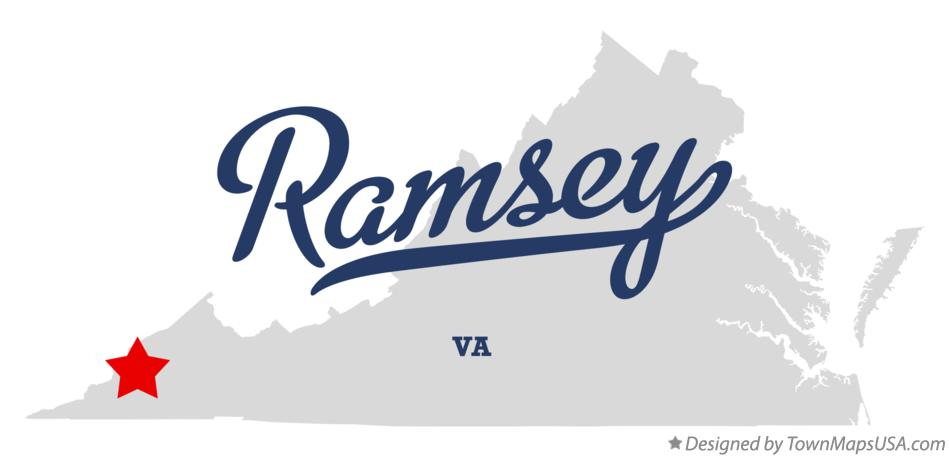 Map of Ramsey Virginia VA