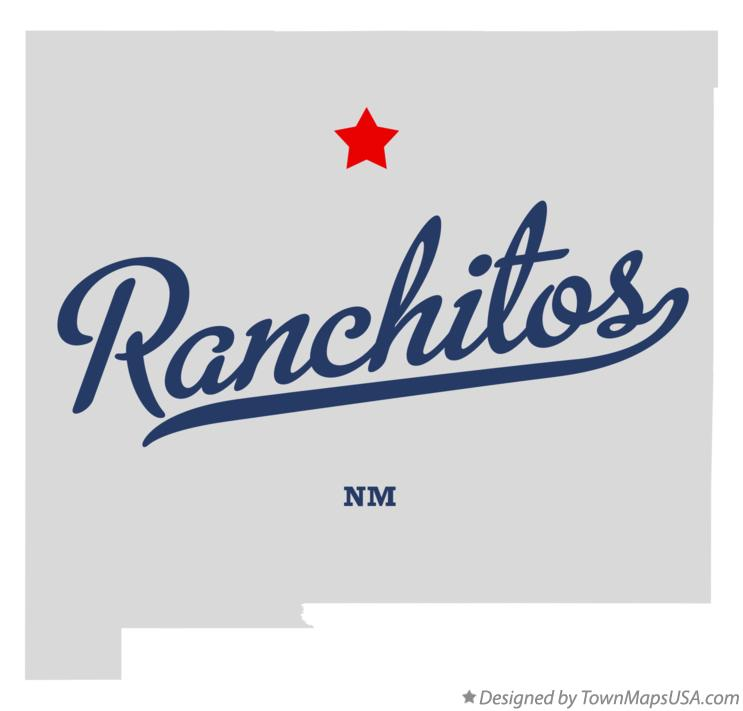 Map of Ranchitos New Mexico NM