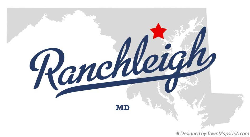Map of Ranchleigh Maryland MD