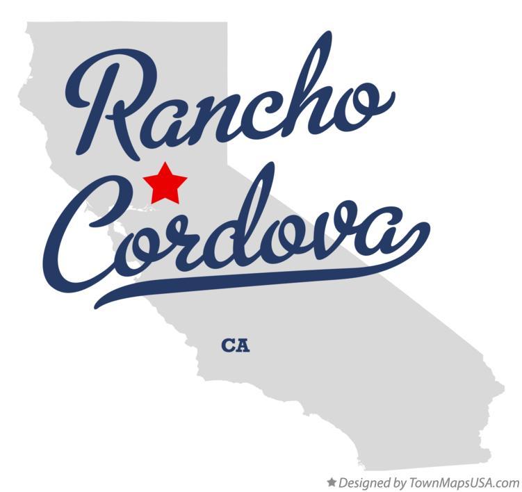 Rancho Cordova California Map.Map Of Rancho Cordova Ca California