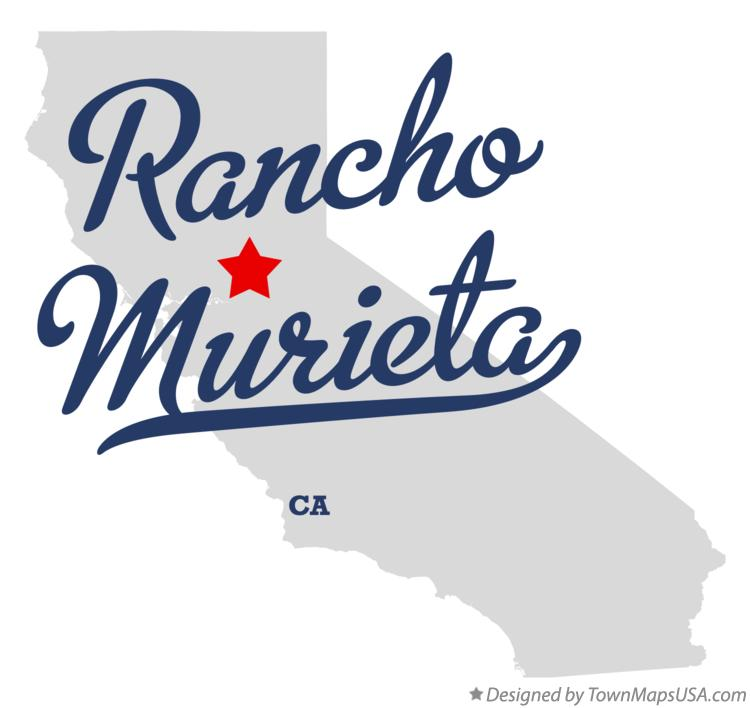 Map of Rancho Murieta California CA