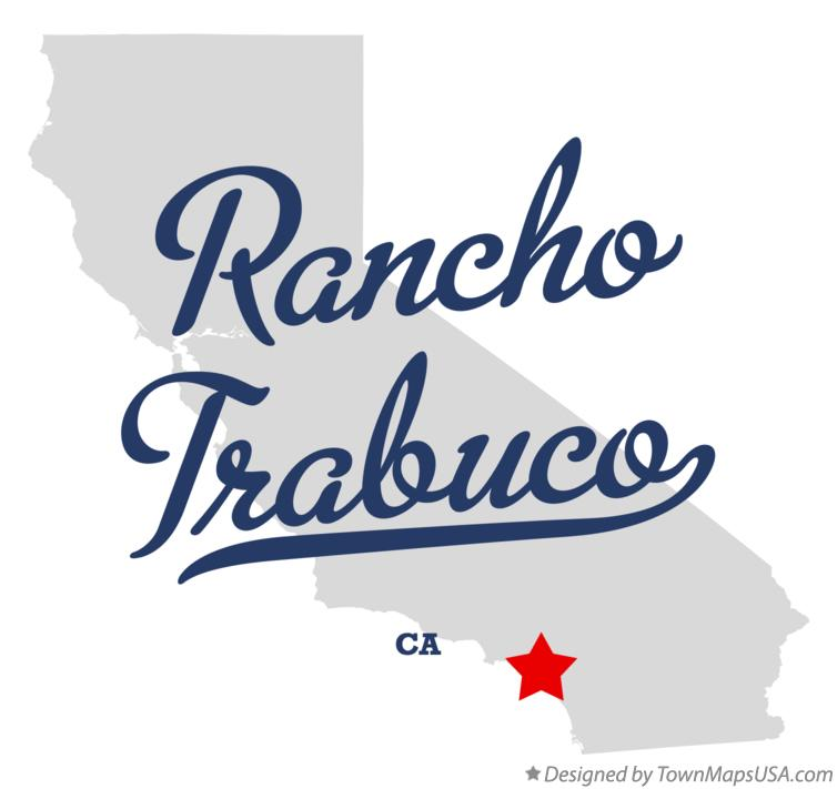 Map of Rancho Trabuco California CA