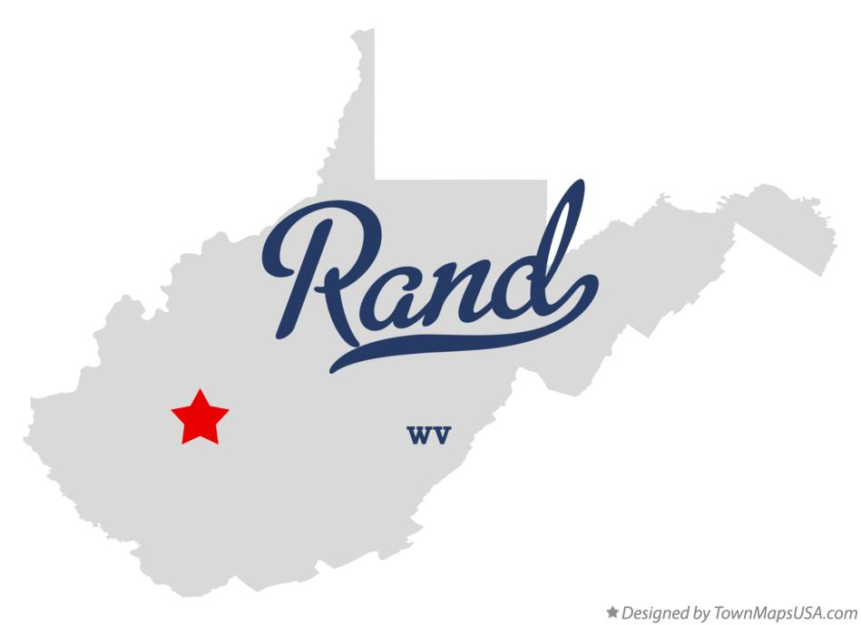 Map of Rand West Virginia WV