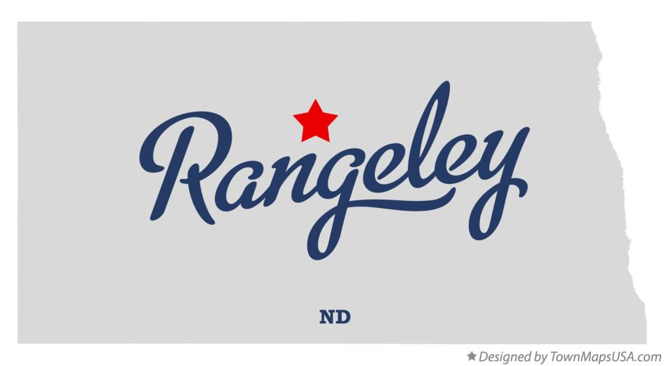 Map of Rangeley North Dakota ND