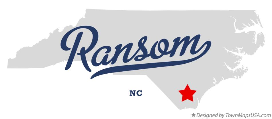 Map of Ransom North Carolina NC