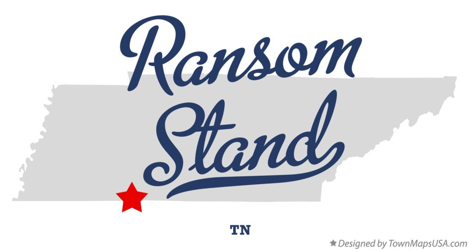 Map of Ransom Stand Tennessee TN