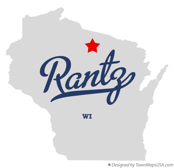 Map of Rantz Wisconsin WI
