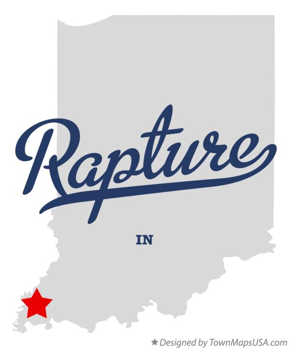 Map of Rapture Indiana IN