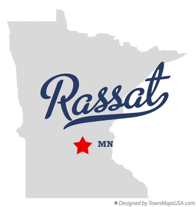 Map of Rassat Minnesota MN