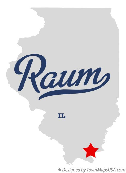 Map of Raum Illinois IL