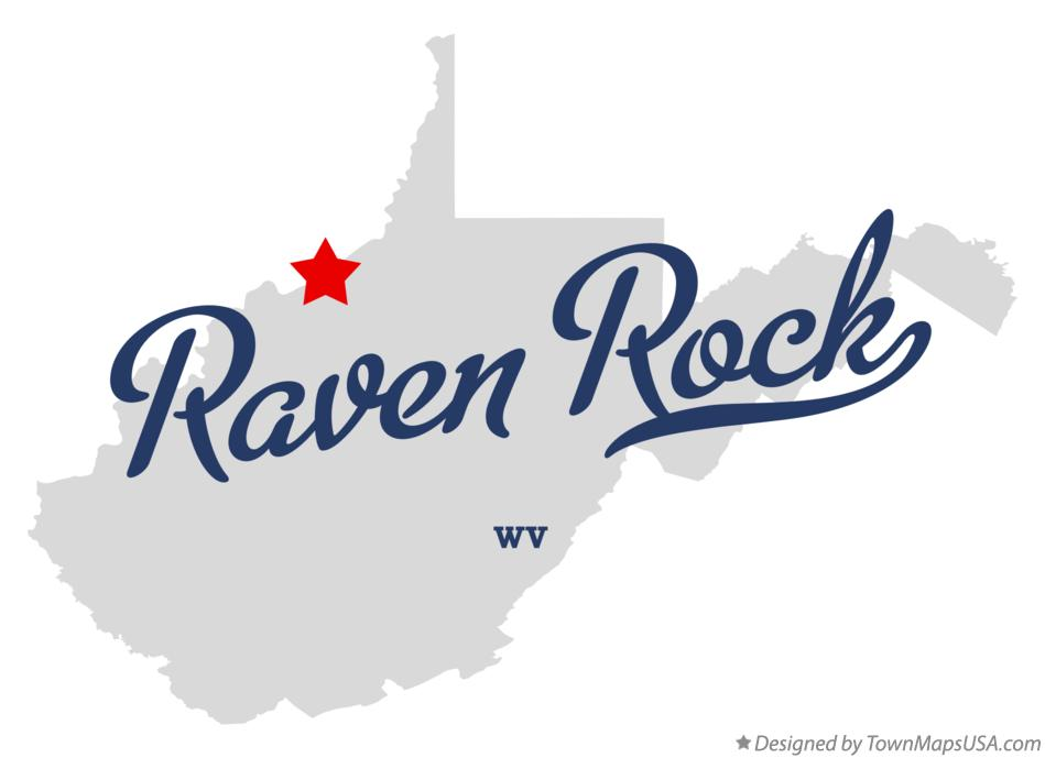 Map of Raven Rock West Virginia WV