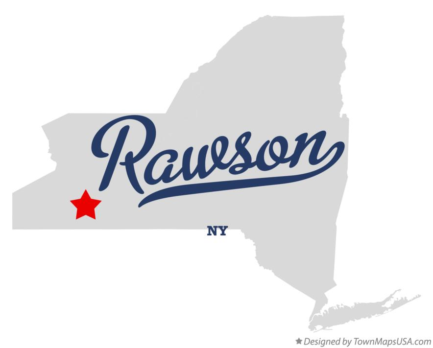 Map of Rawson New York NY