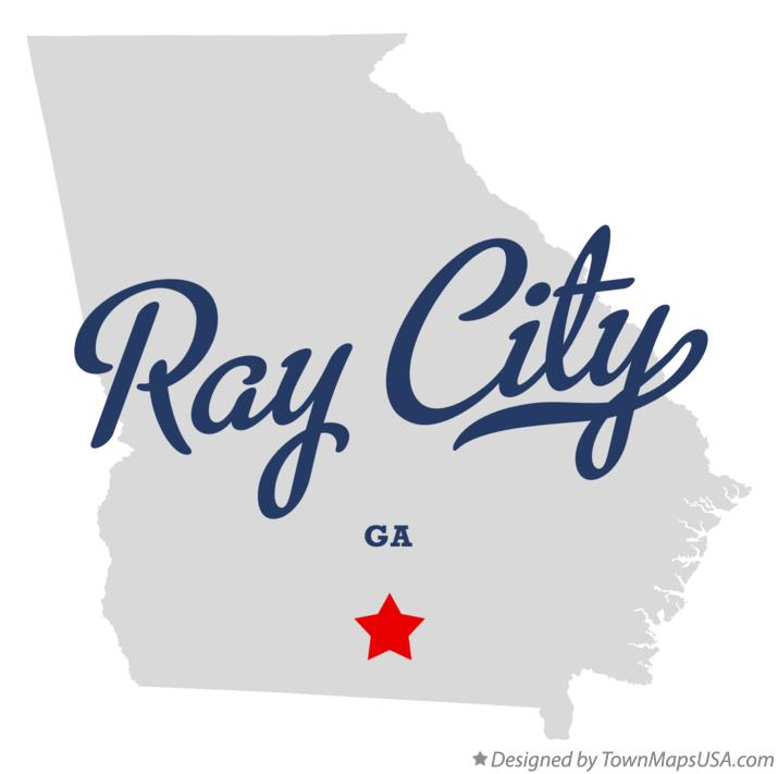 Map of Ray City Georgia GA