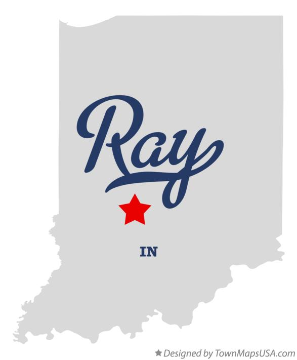Map of Ray Indiana IN