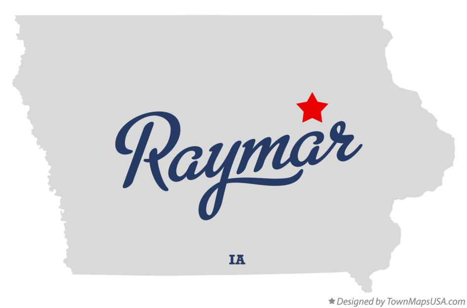 Map of Raymar Iowa IA