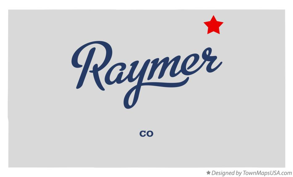Map of Raymer Colorado CO