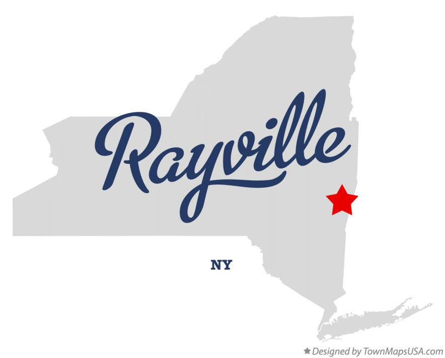 Map of Rayville New York NY