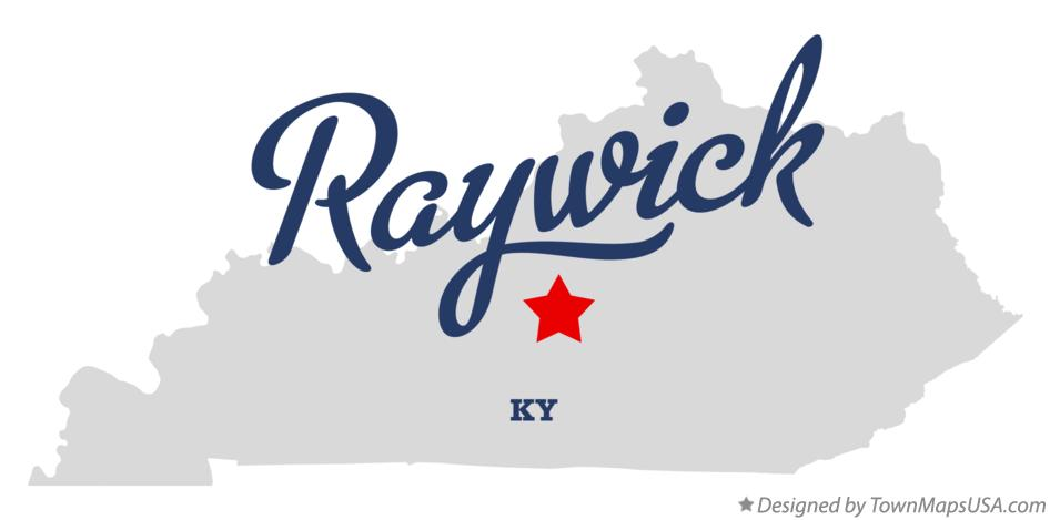 Map of Raywick Kentucky KY