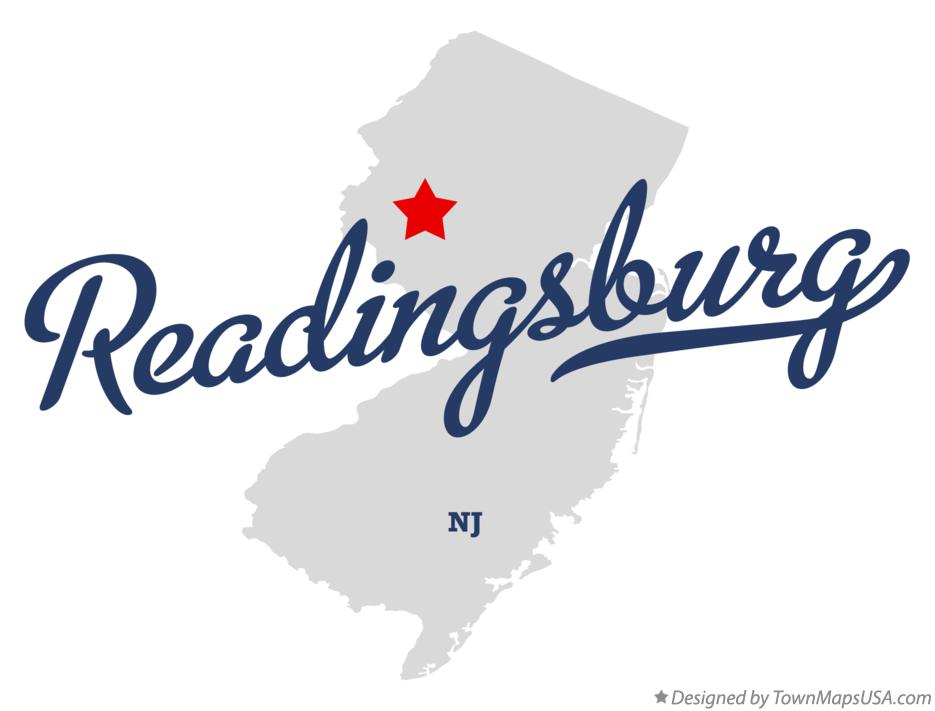 Map of Readingsburg New Jersey NJ