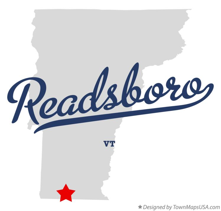 Map of Readsboro Vermont VT