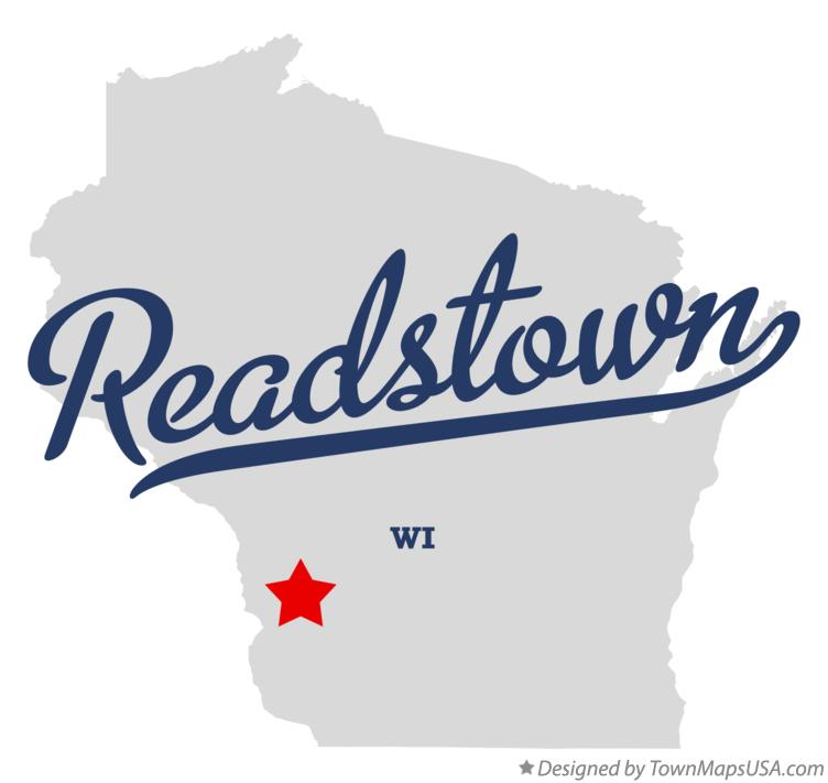Map of Readstown Wisconsin WI