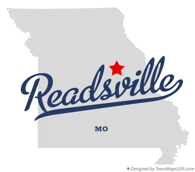 Map of Readsville Missouri MO