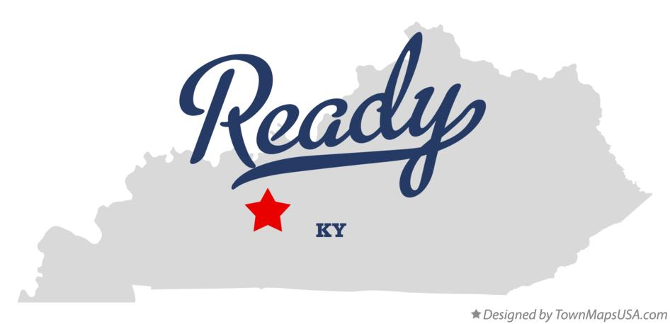 Map of Ready Kentucky KY