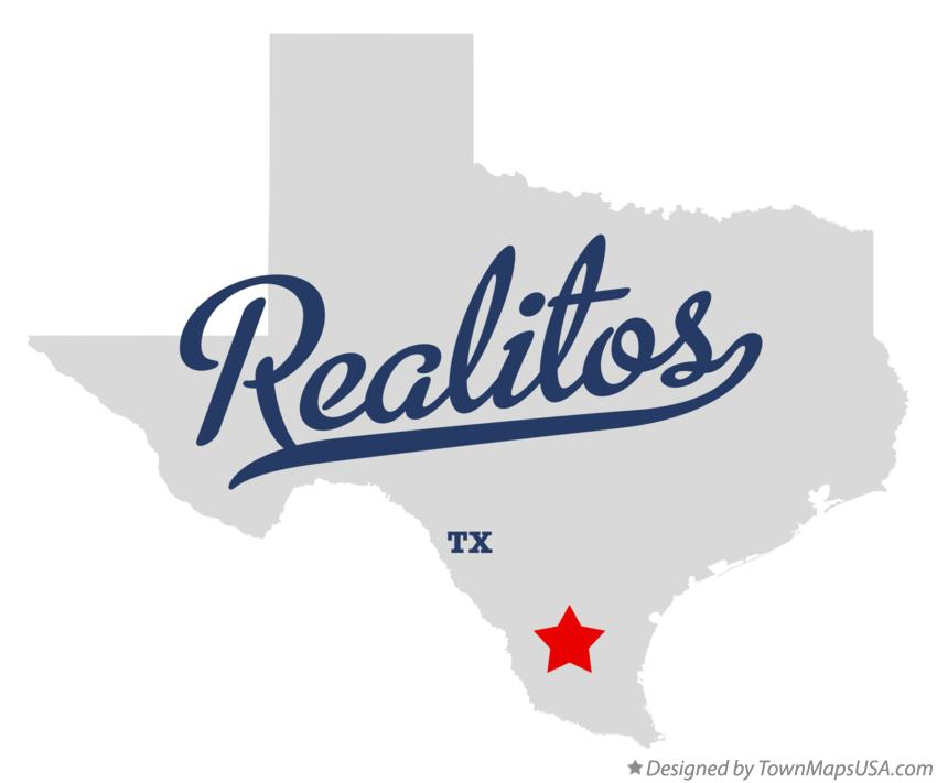 Map of Realitos Texas TX