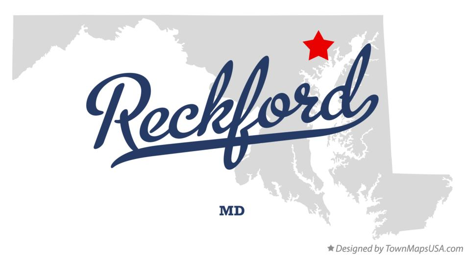 Map of Reckford Maryland MD
