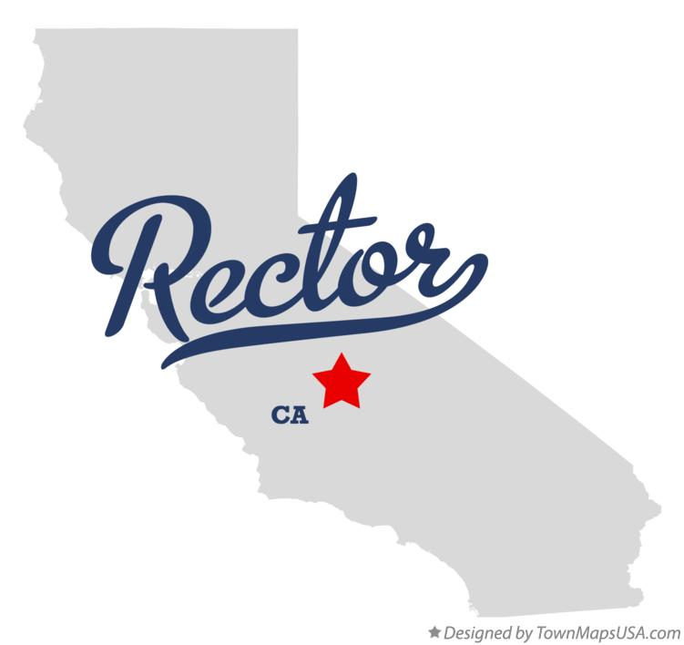 Map of Rector California CA