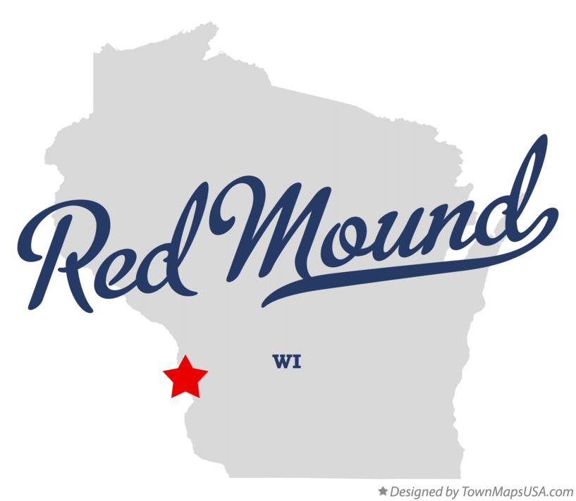 Map of Red Mound Wisconsin WI