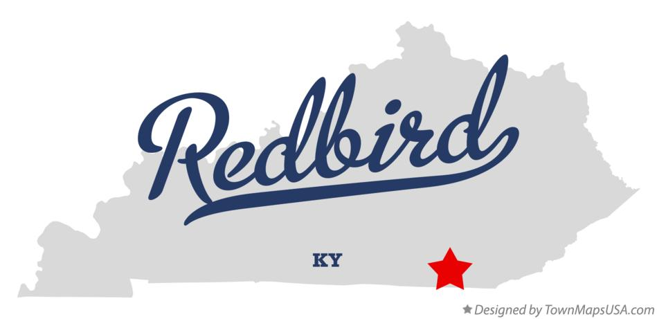Map of Redbird Kentucky KY