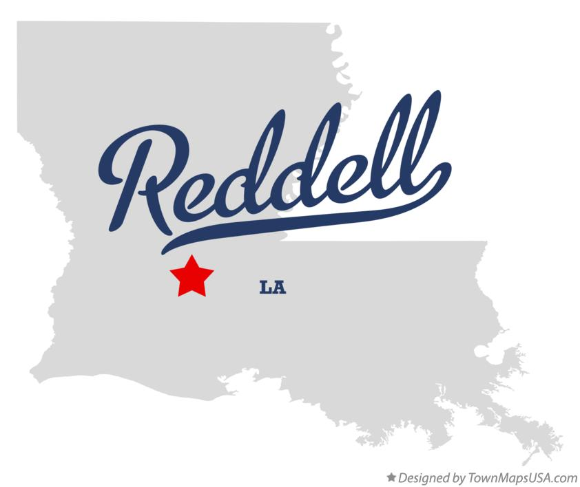 Map of Reddell Louisiana LA