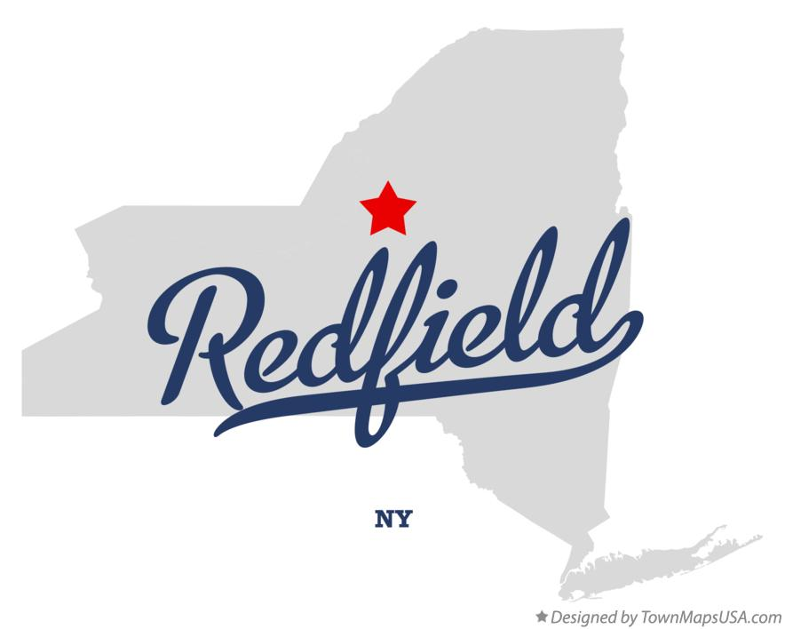 Map of Redfield New York NY