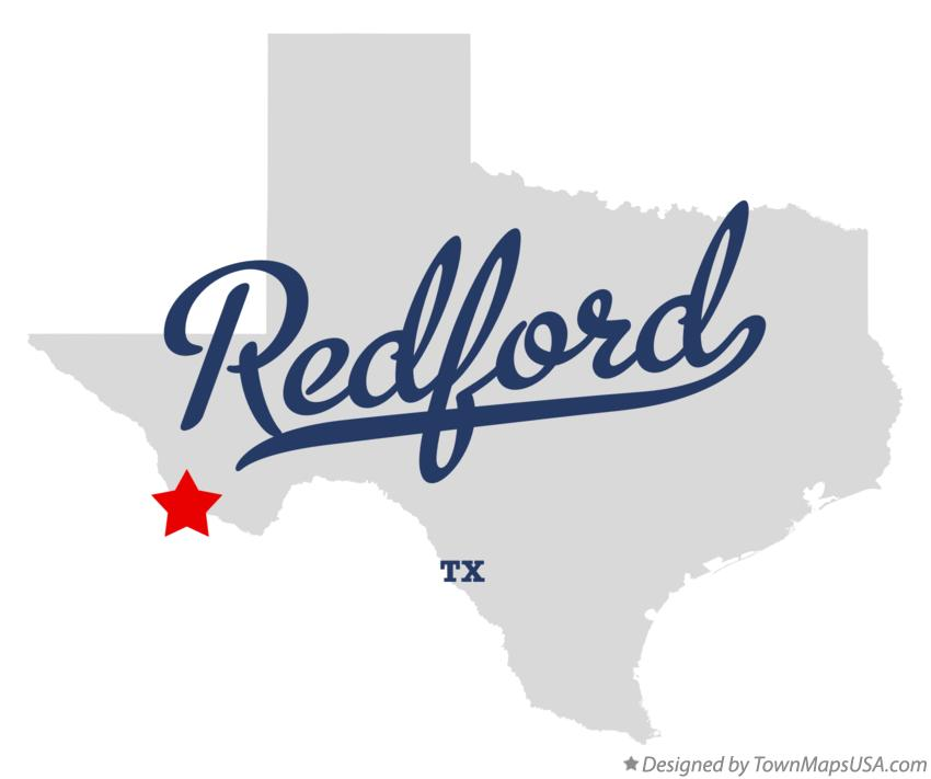 Map of Redford Texas TX
