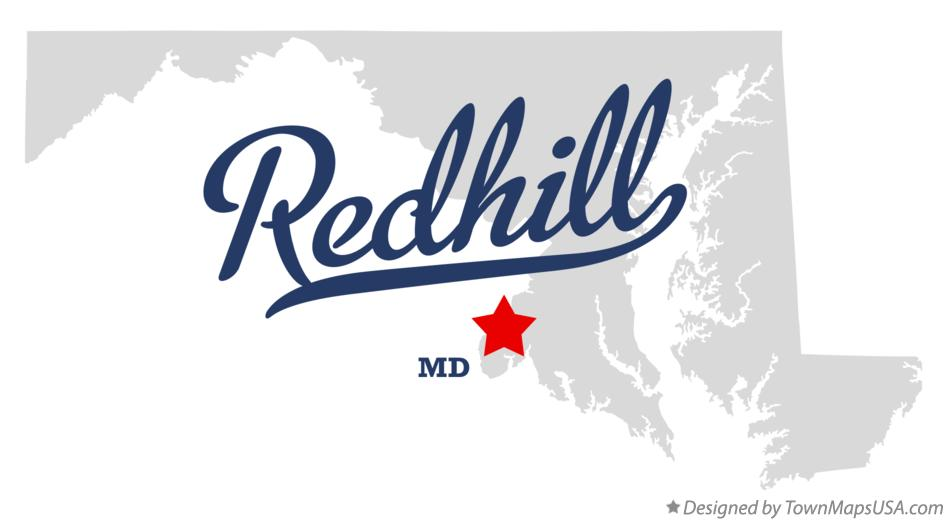 Map of Redhill Maryland MD