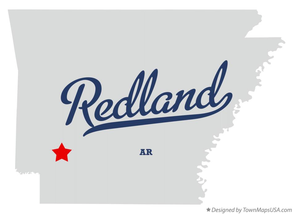 Map of Redland Arkansas AR
