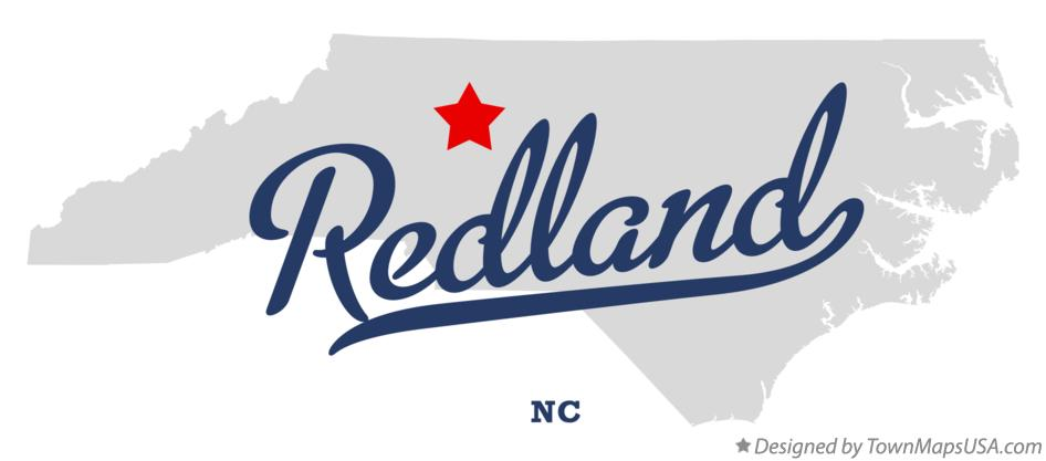 Map of Redland North Carolina NC