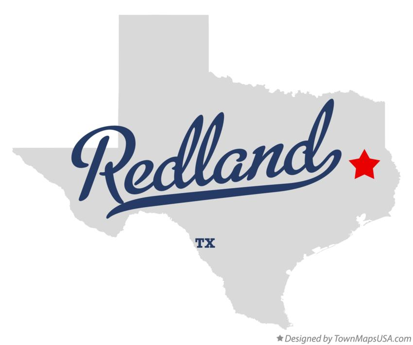 Map of Redland Texas TX