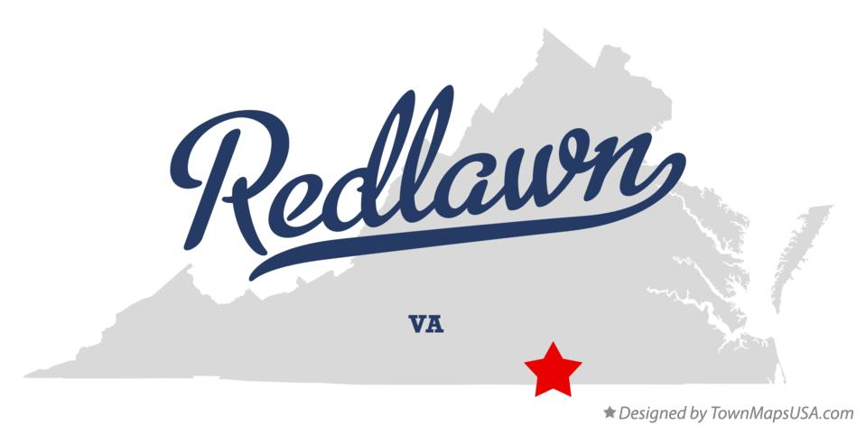 Map of Redlawn Virginia VA