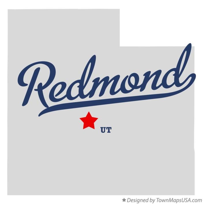 Map of Redmond Utah UT