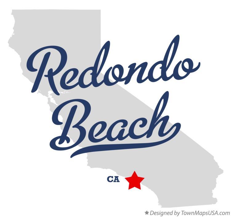 Map Of Redondo Beach Ca California