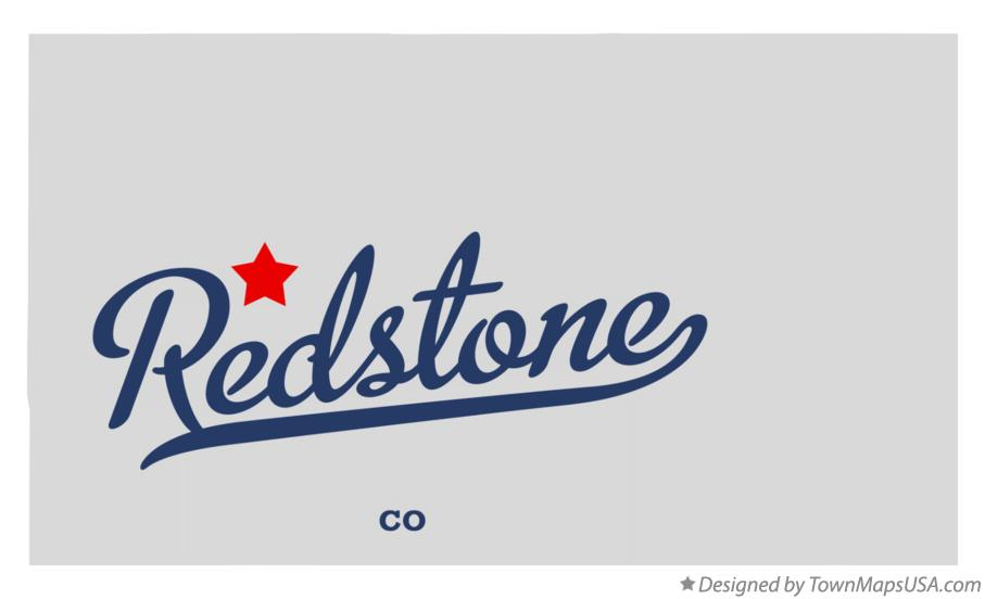Map of Redstone Colorado CO