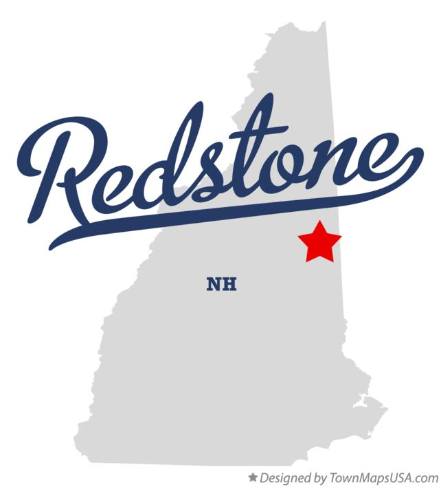 Map of Redstone New Hampshire NH