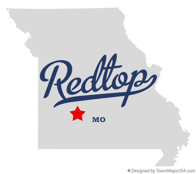 Map of Redtop Missouri MO