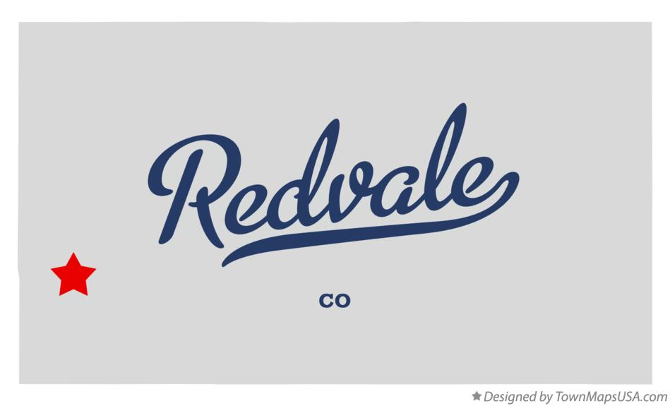 Map of Redvale Colorado CO
