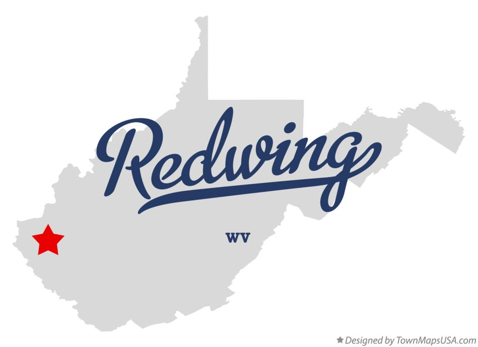 Map of Redwing West Virginia WV